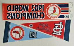 Vintage St Louis Cardinals Bumper Sticker 1982 World Champio