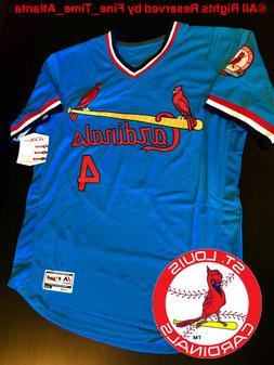 Yadier Molina St Louis Cardinals Men's Powder Blue 1976-1984