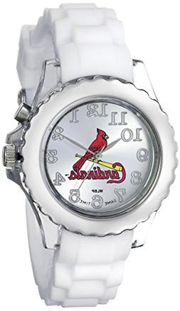 "Game Time Youth MLB-FLW-STL ""Flash White"" Watch - St. Louis"
